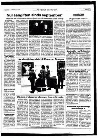 Het Vrije volk 1990-02-14