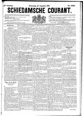 Schiedamsche Courant 1910-08-24