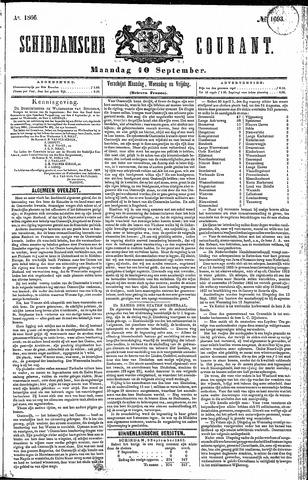 Schiedamsche Courant 1866-09-10