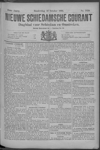 Nieuwe Schiedamsche Courant 1901-10-31