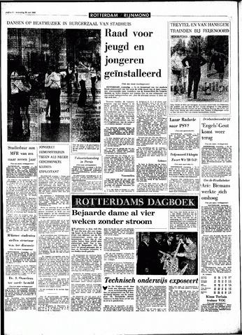 Rotterdamsch Parool / De Schiedammer 1968-05-29