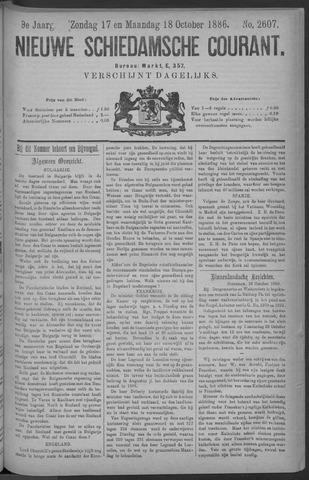 Nieuwe Schiedamsche Courant 1886-10-18