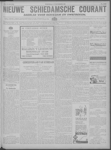 Nieuwe Schiedamsche Courant 1929-11-27