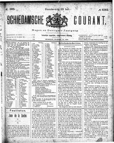 Schiedamsche Courant 1885-07-23