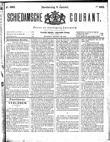 Schiedamsche Courant 1883-01-11