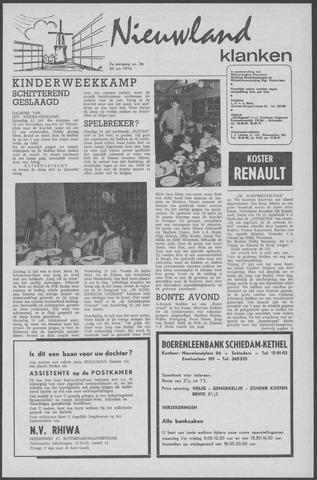 Nieuwland Klanken 1970-07-30