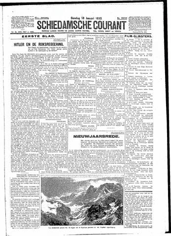 Schiedamsche Courant 1933-01-10