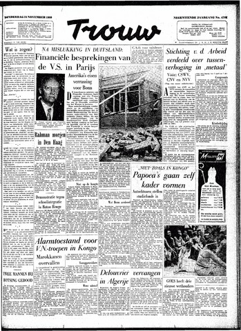 Trouw / De Rotterdammer 1960-11-24
