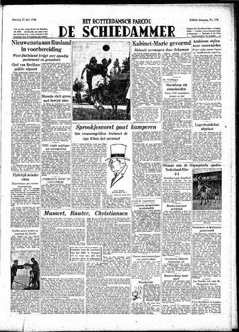Rotterdamsch Parool / De Schiedammer 1948-07-27