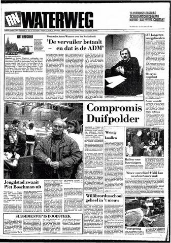 Rotterdamsch Nieuwsblad / Schiedamsche Courant / Rotterdams Dagblad / Waterweg / Algemeen Dagblad 1987-12-30