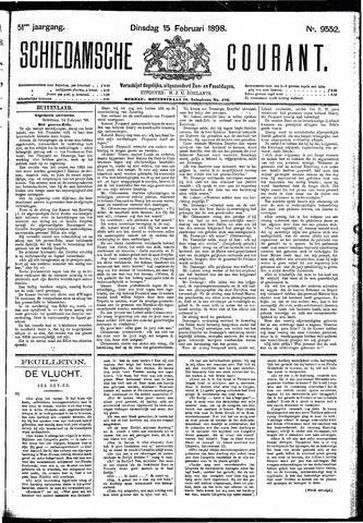 Schiedamsche Courant 1898-02-15