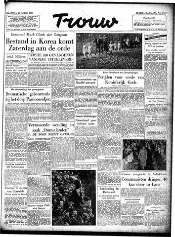 Trouw / De Rotterdammer 1953-04-20