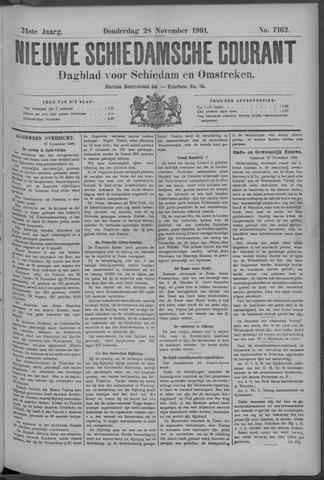 Nieuwe Schiedamsche Courant 1901-11-28