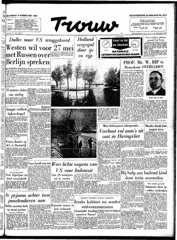 Trouw / De Rotterdammer 1959-02-09