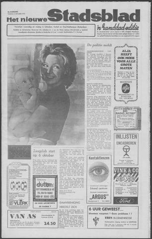 Het Nieuwe Stadsblad 1970-10-02