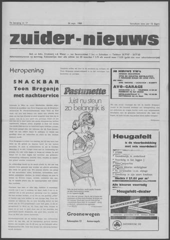 Zuider Nieuws 1968-09-26