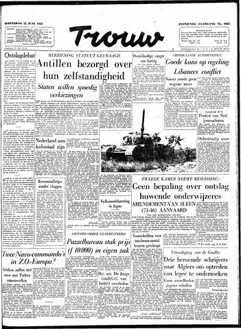 Trouw / De Rotterdammer 1958-06-25