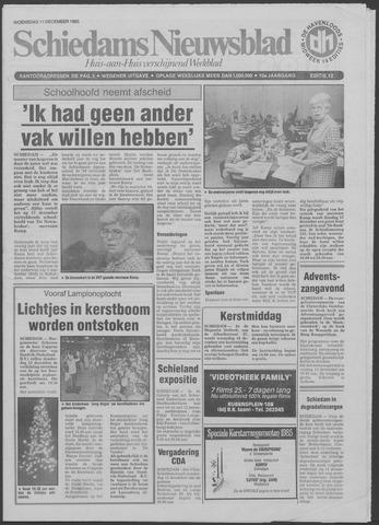 Schiedams Nieuwsblad 1985-12-11