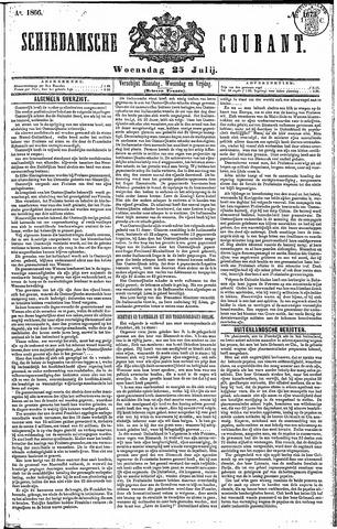 Schiedamsche Courant 1866-07-25