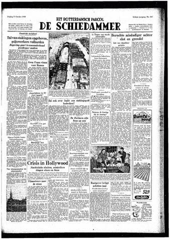 Rotterdamsch Parool / De Schiedammer 1948-10-15