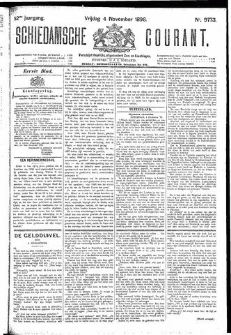 Schiedamsche Courant 1898-11-04