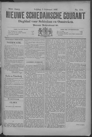 Nieuwe Schiedamsche Courant 1897-02-05