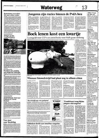 Rotterdamsch Nieuwsblad / Schiedamsche Courant / Rotterdams Dagblad / Waterweg / Algemeen Dagblad 1991-09-25