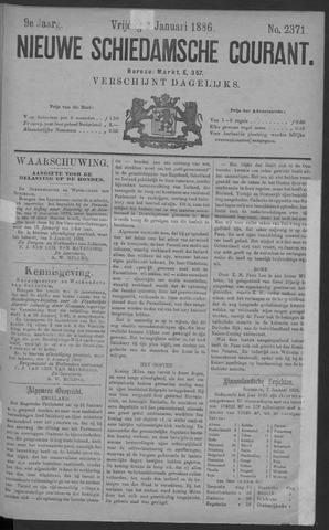 Nieuwe Schiedamsche Courant 1886-01-08