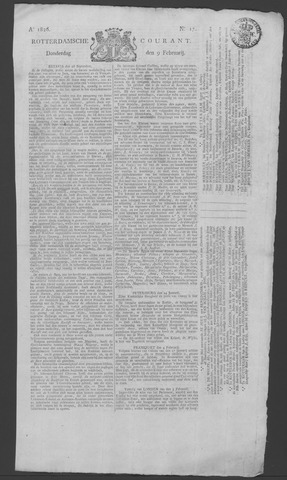 Rotterdamse Courant 1826-02-09