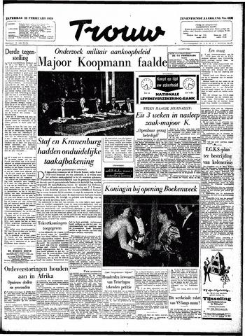 Trouw / De Rotterdammer 1959-02-28