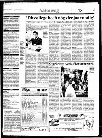 Rotterdamsch Nieuwsblad / Schiedamsche Courant / Rotterdams Dagblad / Waterweg / Algemeen Dagblad 1993-01-14