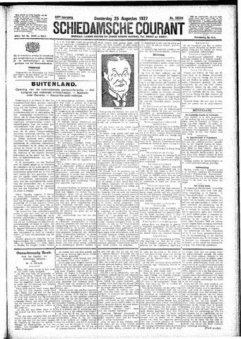 Schiedamsche Courant 1927-08-25