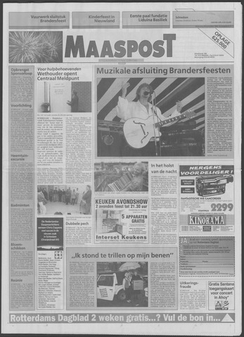 Maaspost / Maasstad / Maasstad Pers 1994-09-28