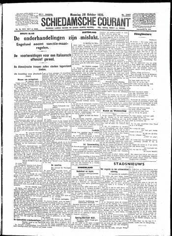 Schiedamsche Courant 1935-10-28