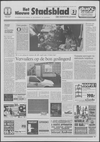 Het Nieuwe Stadsblad 1995-02-23