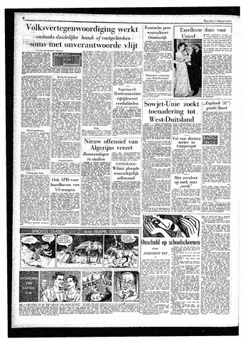 Rotterdamsch Parool / De Schiedammer 1957-02-11