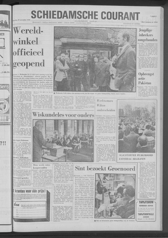 Rotterdamsch Nieuwsblad / Schiedamsche Courant / Rotterdams Dagblad / Waterweg / Algemeen Dagblad 1970-11-30
