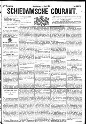 Schiedamsche Courant 1912-07-25