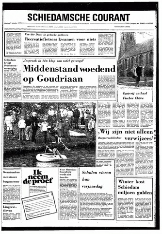 Rotterdamsch Nieuwsblad / Schiedamsche Courant / Rotterdams Dagblad / Waterweg / Algemeen Dagblad 1979-10-09