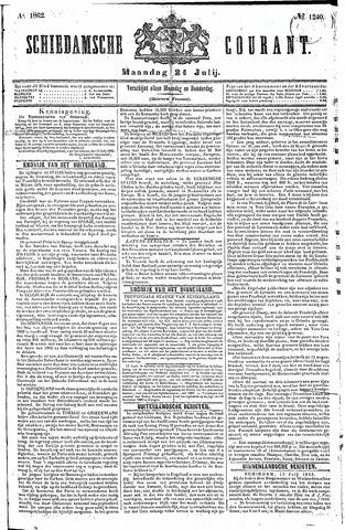 Schiedamsche Courant 1862-07-21