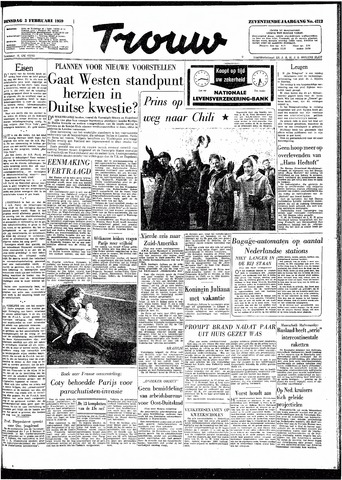 Trouw / De Rotterdammer 1959-02-03
