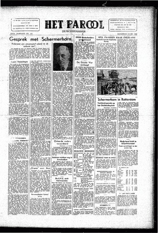 Rotterdamsch Parool / De Schiedammer 1946-05-16