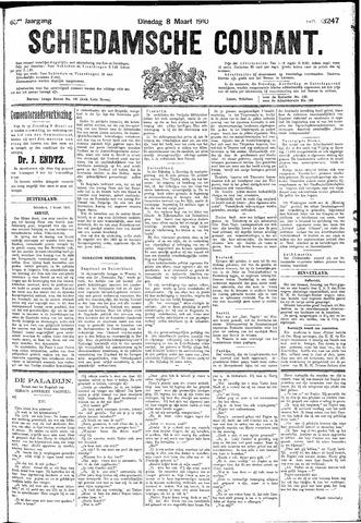 Schiedamsche Courant 1910-03-08