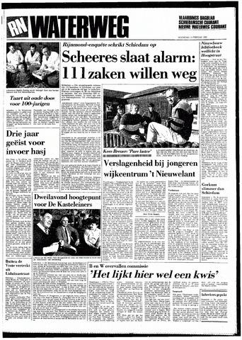 Rotterdamsch Nieuwsblad / Schiedamsche Courant / Rotterdams Dagblad / Waterweg / Algemeen Dagblad 1985-02-13