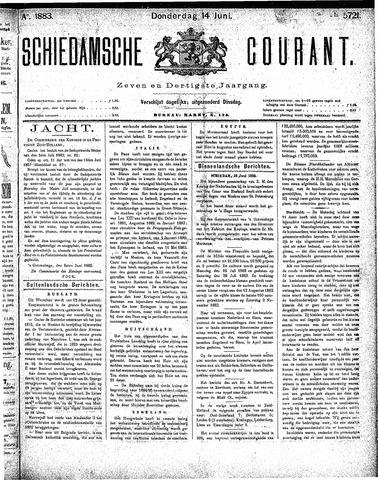 Schiedamsche Courant 1883-06-14