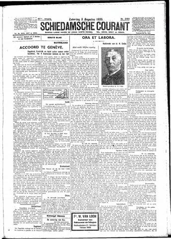 Schiedamsche Courant 1935-08-03