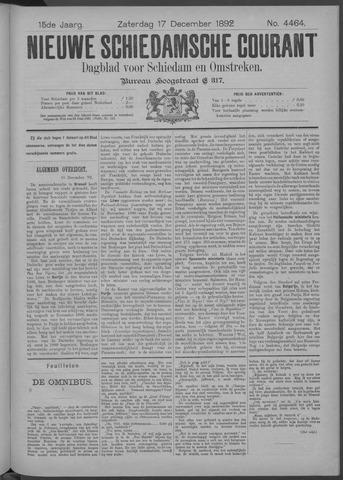 Nieuwe Schiedamsche Courant 1892-12-17