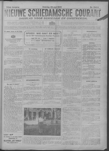 Nieuwe Schiedamsche Courant 1929-06-29