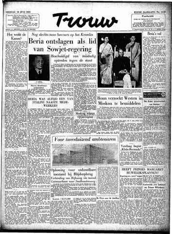 Trouw / De Rotterdammer 1953-07-10