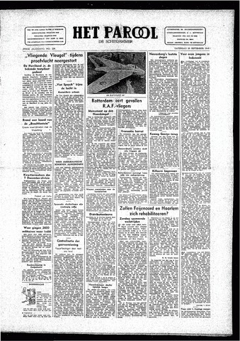 Rotterdamsch Parool / De Schiedammer 1946-09-28